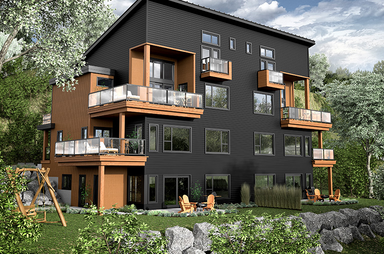 New Condos for sale in Bromont ski-in ski-out - Cote Est, Bromont ...