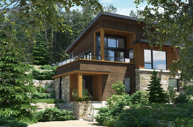 Projet Côte-Est - Modèle Detroit - Bromont immobilier