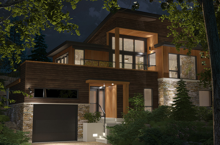 New ski-in ski-out houses for sale in Bromont - Cote Est Bromont ...