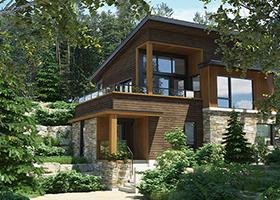 Maison à vendre à Bromont - Projet Côte Est