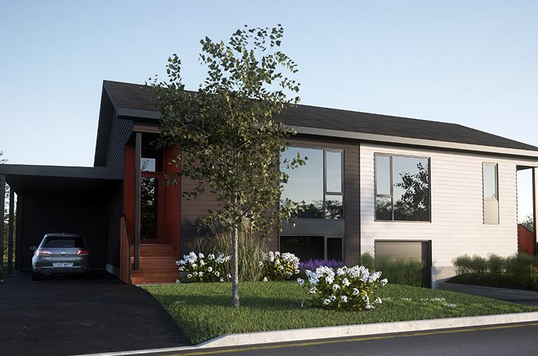 Projet Faubourg 1792 - Modèle Prescott & Savage - Bromont immobilier